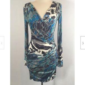 Emilio Pucci Jersey Drape Front Dress 1642-4-92618